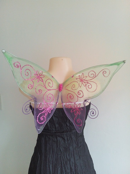 small curly faerie wings
